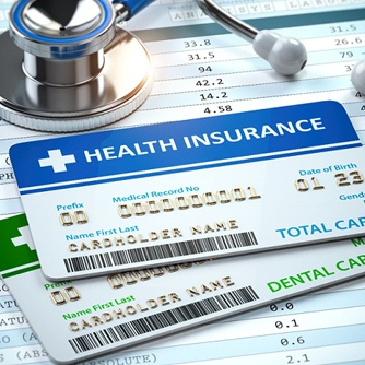 health and dental insurance cards